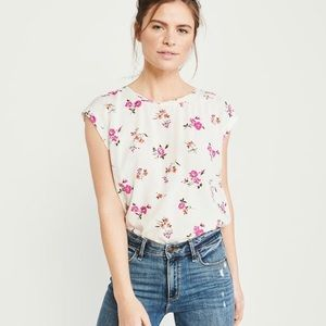 Abercrombie Button Back Blouse